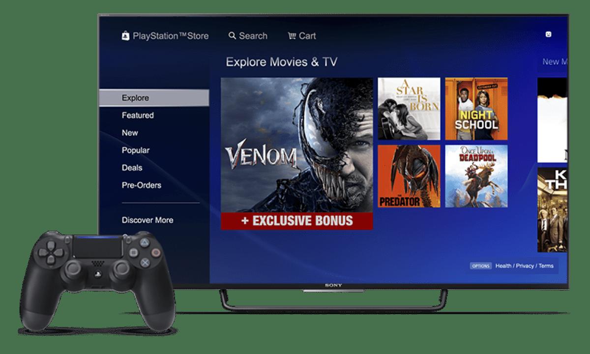 レンタルより断然お得!PS4で人気映画を見放題で観れる動画配信サービス(VOD)